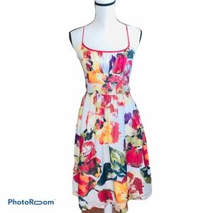 Molly New York Floral Fit and Flare Dress